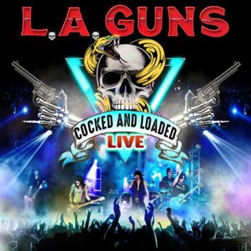 La Guns - Cocked Loaded Live - Album Cover