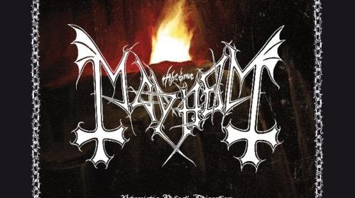 Mayhem - Atavistic Black Disorder Kommando - EP Cover