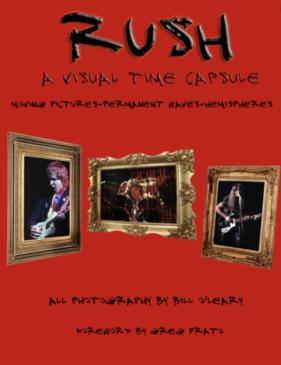 Rush - A Visual Time Capsule - Book Cover