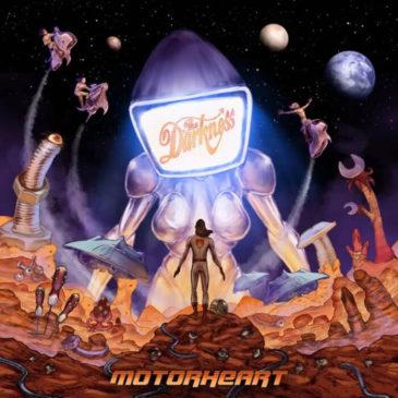 The Darkness - Motorheart - Album Cover