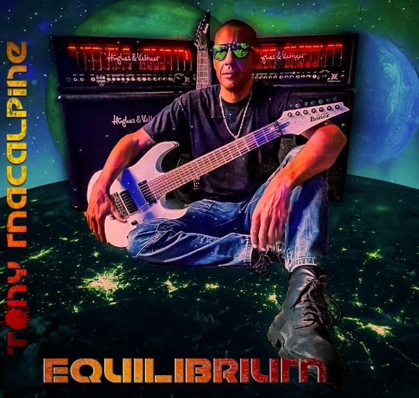 Tony Macalpine - Equilibrium - Album Cover