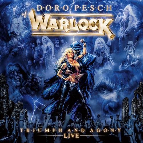 Warlock - Triumph And Agony Live - Boxset Cover