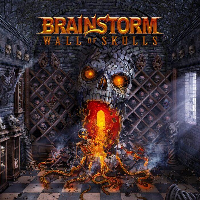Brainstorm - Wall Of Skulls - Album Cover