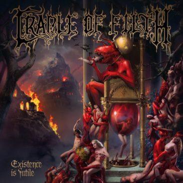 Cradle Of Filth - Existence Is Futile - Album Cover