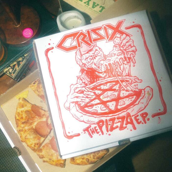 Crisix - The Pizza EP -EP Cover