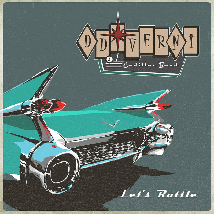 DD Verni And The Cadillac Band - Lets Rattle - Album Cover