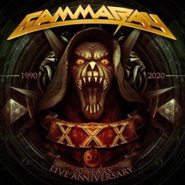 Gamma Ray - 30 Years Live Anniversary - Album Cover