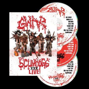 Gwar - Scumdogs xxx Live - Album Cover