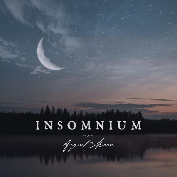 Insomnium - Argent Moon - EP Cover