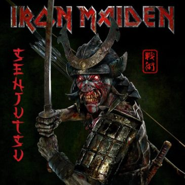 Iron Maiden - Senjutsu - Album Cover