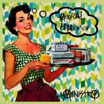 Ministry - Moral Hygiene -Album Cover