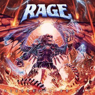 Rage - Resurrection Day - Album Cover