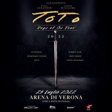 Toto - Arena Di Verona - Dogz Of Oz Tour 2022 - Promo