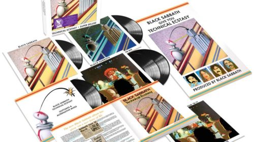 Black Sabbath - Technical Ecstasy - Album Cover Remastered