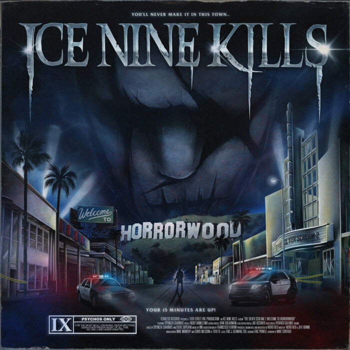 Ice Nine Kills - The Silver Scream 2 Welcome To Horrorwood - Album Cover