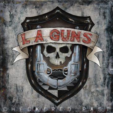 LA Guns - Checkered Past - Album Cover