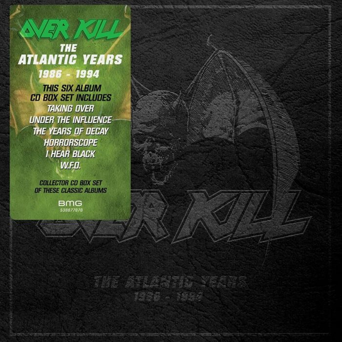 Overkill - The Atlantic Years 1986 - 1984 - Boxset Cover