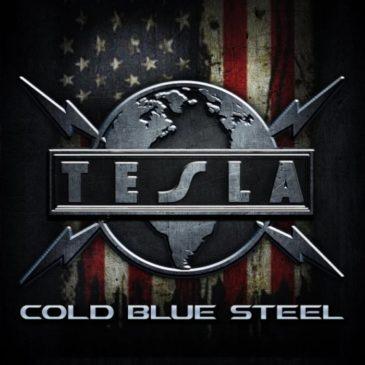 Tesla - Cold Blue Steel - Single Cover