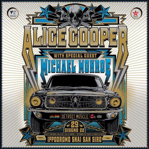 Alice Cooper - Michael Monroe - Ippodromo Snai San Siro - Milano Summer Festival 2022 - Promo