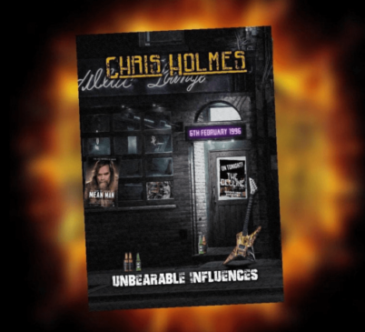 Chris Holmes - Unbearable Infuence - Album Cover