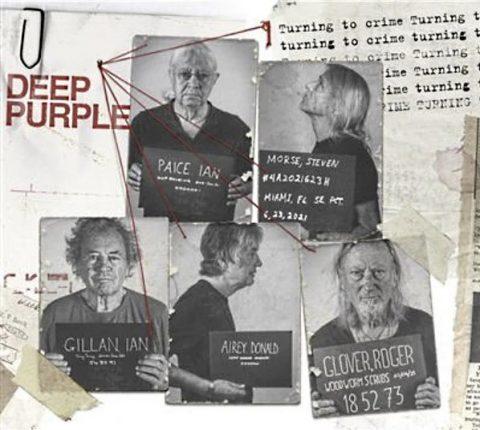 Deep Purple - Turning To Crime - Album Cover