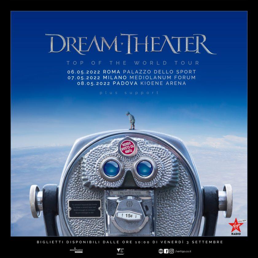 Dream Theater - Italian Tour 2022 - Promo