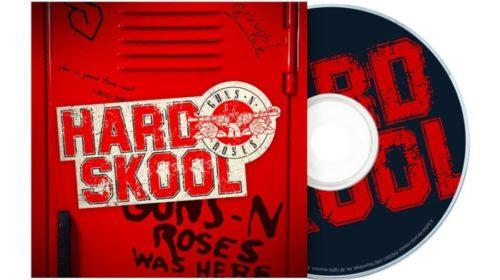 Guns N Roses - Hard Skool - EP Cover
