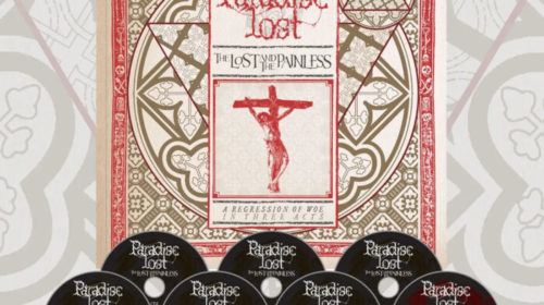 Paradise Lost - The Lost And The Painless - Album Cover