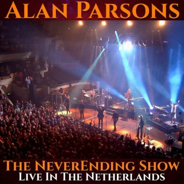 Alan Parsons - The Neverending Show Live In The Netherlands - Album Cover