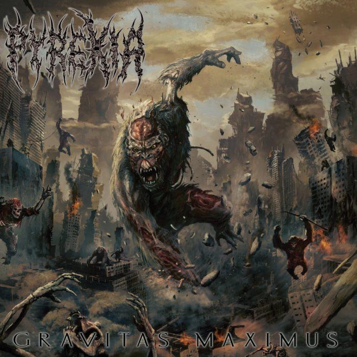 Pyrexia - Gravitas Maximus - Album Cover