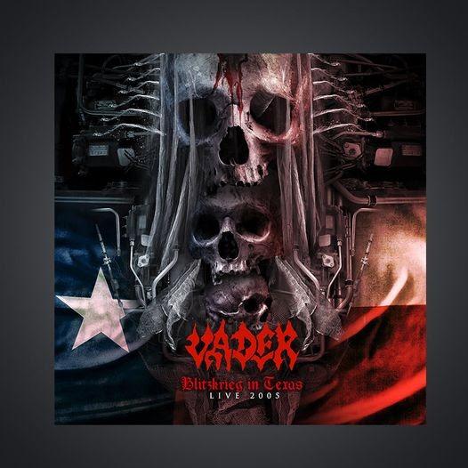 Vader - Blitzkrieg In Texas Live 2005 - Album Cover